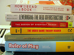 Books on display