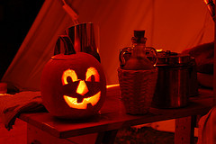 Jack o'lantern by sleddogpirate/flickr