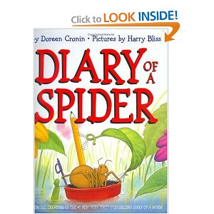 "Book Cover for_.alt._""Diary of a Spider""."