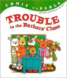 Trouble in the Barker's School._alt.book cover