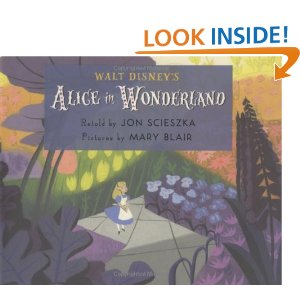 Alice in Wonderland Book Cover by Jon Scieszka