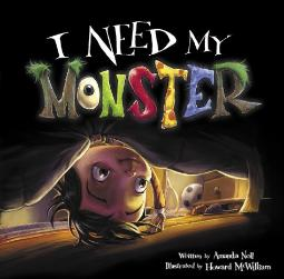 I need my Monster book cover