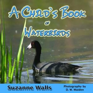 Waterbirds book cover by Sue Walls