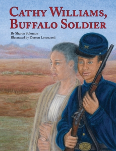 Cathy Williams, Buffalo Soldier book cover