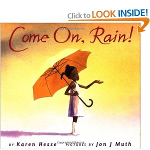 "Book Cover for ""Come On, Rain!"""