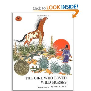 The Girl Who Loved Wild Horses book cover