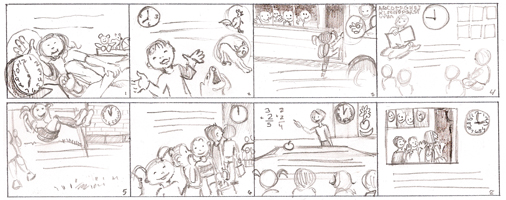 "Thumbnails of  ""Annie's Special Day"""