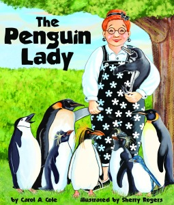 The Penguin Lady Book Cover