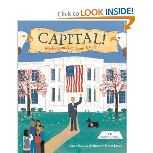 Capital! Washington D. C. from A to Z_alt book cover_