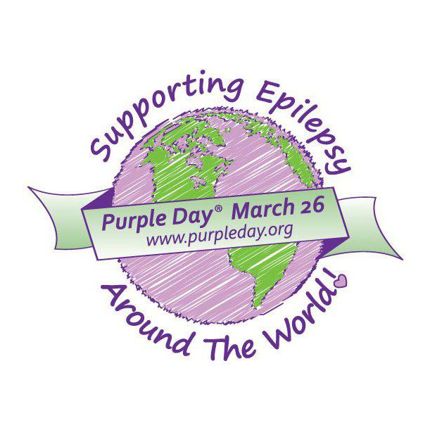 Purple Day Tuesday March 26