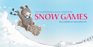 snow games promotional front page