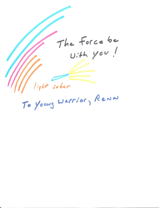 Star Wars Picture for Renn. the young warrior