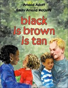 Book Cover for black is brown is tan