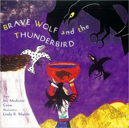 Brave Wolf and the Thunderbird book cover