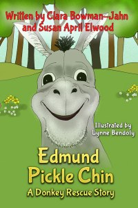 It's in Print and on Amazon now!  http://www.amazon.com/s/ref=nb_sb_noss?url=search-alias%3Dstripbooks&field-keywords=Edmond+Pickle+Chin+A+donkey+rescue+story