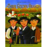 Book Cover for the Three Golden Oranges
