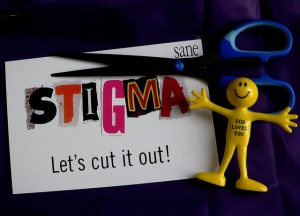 Thanks to Flickr creative commons by Len Mathews. :) Smiley refusing to label or throw anybody into a box of stigma.
