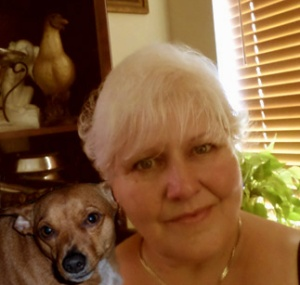 Lynne Bendoly and Larry the dog! :)
