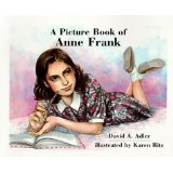 Book cover for Picture book of Anne Frank_