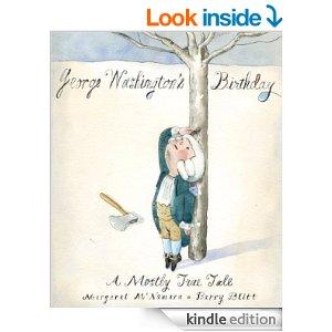 George Washington's Birthday book cover_