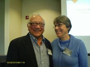 Pat DiCesare and Clara Bowman-Jahn