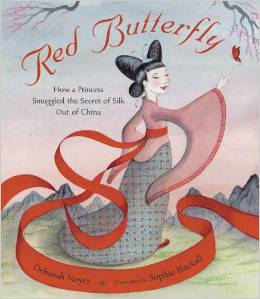 RED Butterfly book cover_d