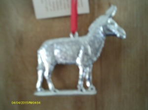 Donkey Susan gave me! So nice!