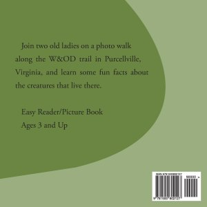 Along THe Trail back cover
